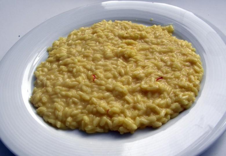 Risotto Milanese (šafránové)