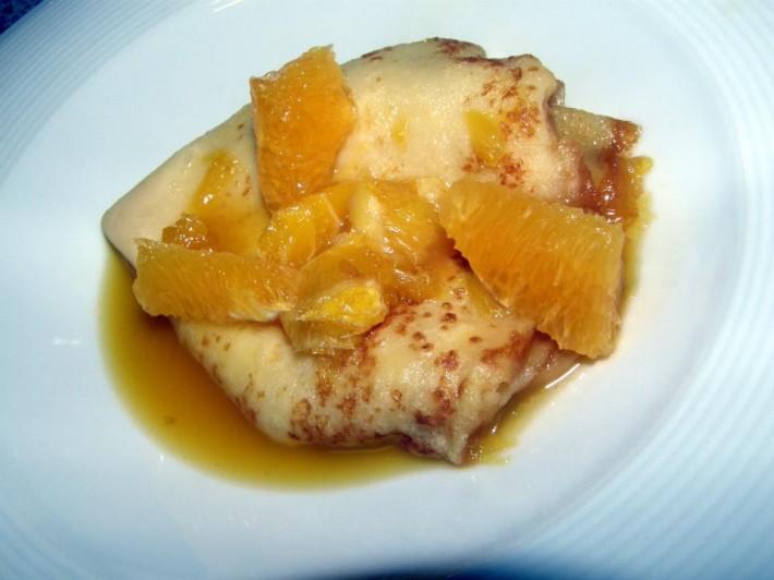 Pomerančové palačinky