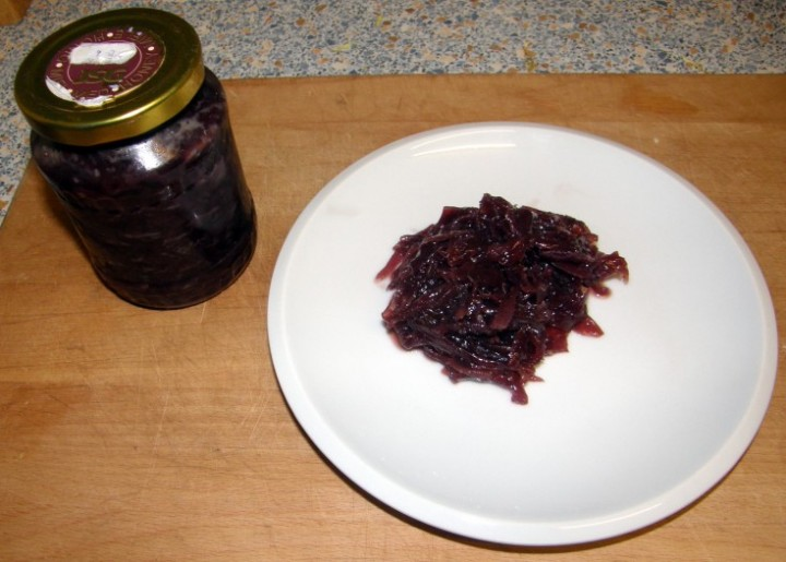 Marmeláda z červené cibule