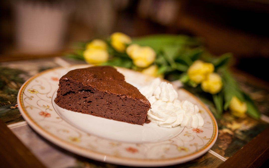 Čokoládový dort – pěna