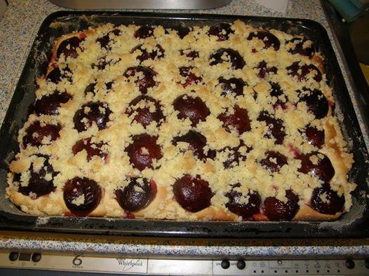 Kynutý koláč – švestkový
