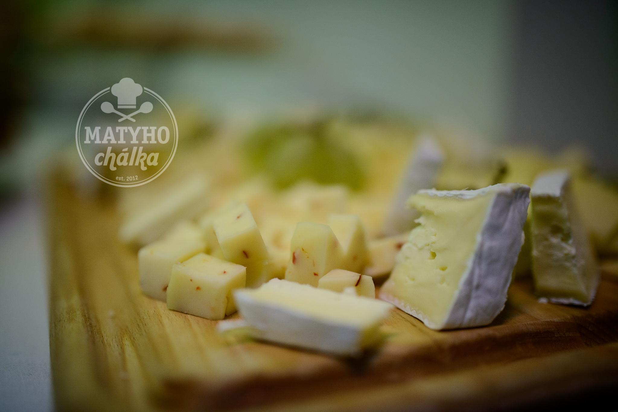 výběr sýrů ...