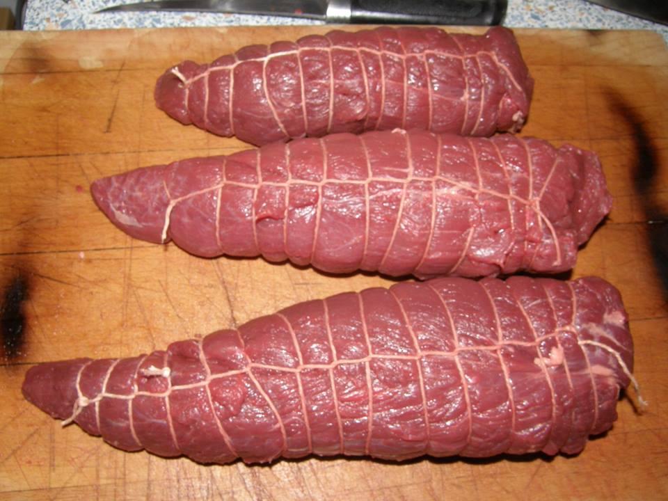 maso je potřeba správně sešněrovat