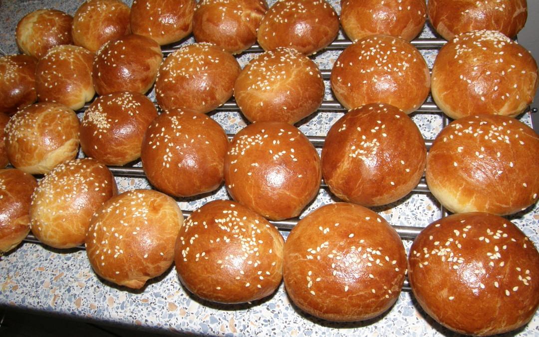Briošky – burgerové bulky
