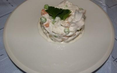 Klasický rybí salát